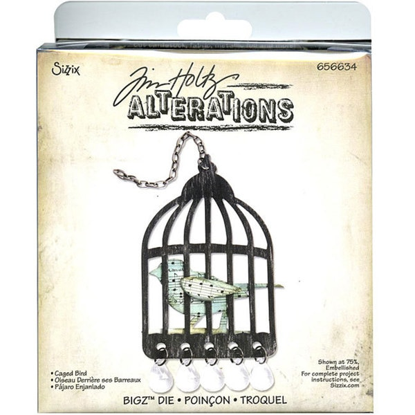 Sizzix Bigz Caged Bird Die