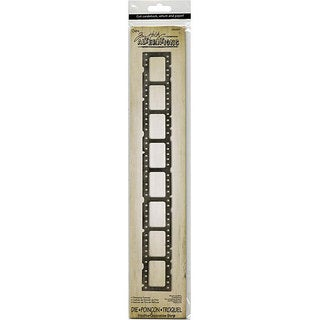 Sizzix Sizzlits Filmstrip Frames Decorative Strip Die