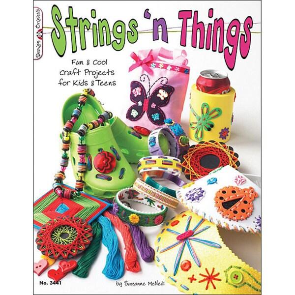 Design Originals 'Strings 'n Things' Craft Book