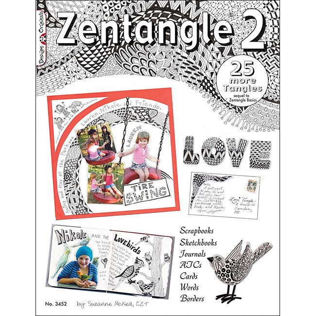 Design Originals 'Zentangle 2' Art Book