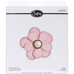 Sizzix Bigz BIGkick/ Big Shot 'Flower Layers 5' Die