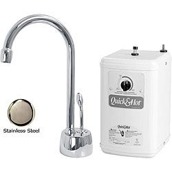 Westbrass Stainless Steel Instant Hot Water Dispenser and Heating Tank