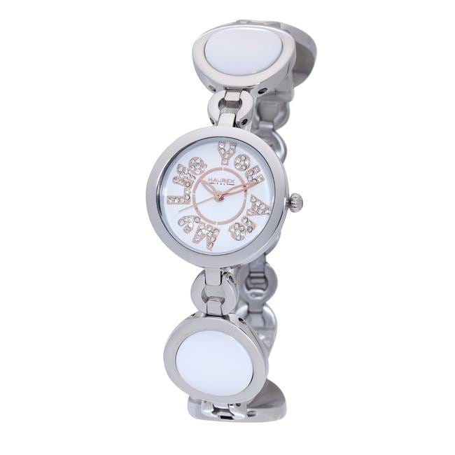Haurex Italy Women's 'You Are My Life' White Ceramic Watch