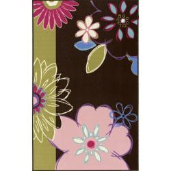 nuLOOM Playtime Children's Bermuda Floral Rug (4'5 x 6'9)