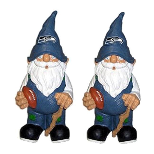 Seattle Seahawks Garden Gnomes (Set of 2)