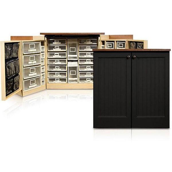 Minibox Black Beadboard Craft & Office Storage