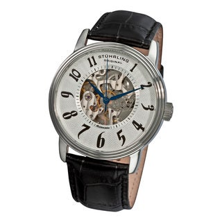 Stuhrling Original Men's 'Romeo' Buckle-Closure Automatic Watch
