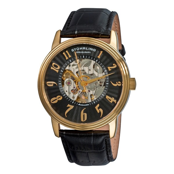 Stuhrling Original Men's 'Romeo' Automatic Watch