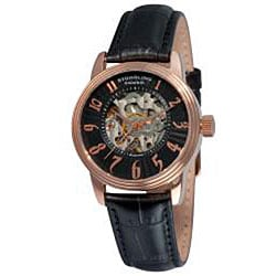 Stuhrling Original Women's Juliet Automatic Rosetone Watch