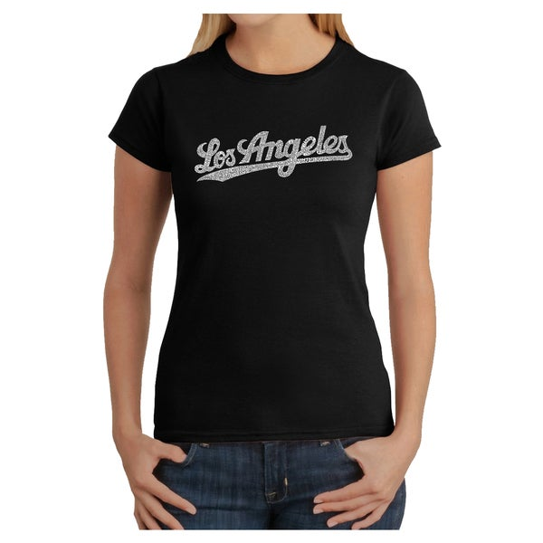 Los Angeles Pop Art Women's Los Angeles T-shirt