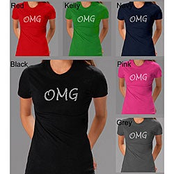 Los Angeles Pop Art Women's OMG T-shirt