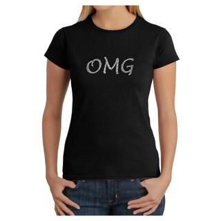 Los Angeles Pop Art Women's OMG T-shirt