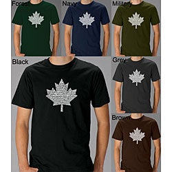 Los Angeles Pop Art Men's 'O Canada' T-Shirt
