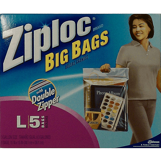 Ziploc Large 3-gallon Big Bags (40 count)