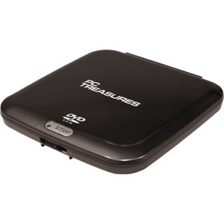 Digital Treasures 07250 External DVD-Reader - Black