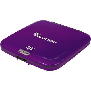 Digital Treasures 07255 External DVD-Reader - Purple