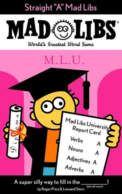 """Straight """"A"""" Mad Libs (Paperback)"""