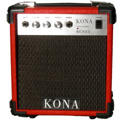 Kona 10-watt Red Electric Guitar Amplifier