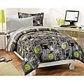 X-Factor 7-piece Full-size Bed in a Bag with Sheet Set