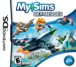 Nintendo DS - MySims Sky Heroes- By Electronic Arts