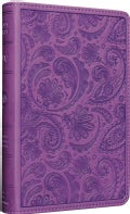 Holy Bible: English Standard Version, Trutone, Purple, Paisley Design (Paperback)