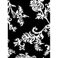 Hand-tufted Quill Feather Black/ White Wool Rug (5' x 8')