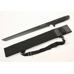 Ninja Black 16-inch Sword with Sheath