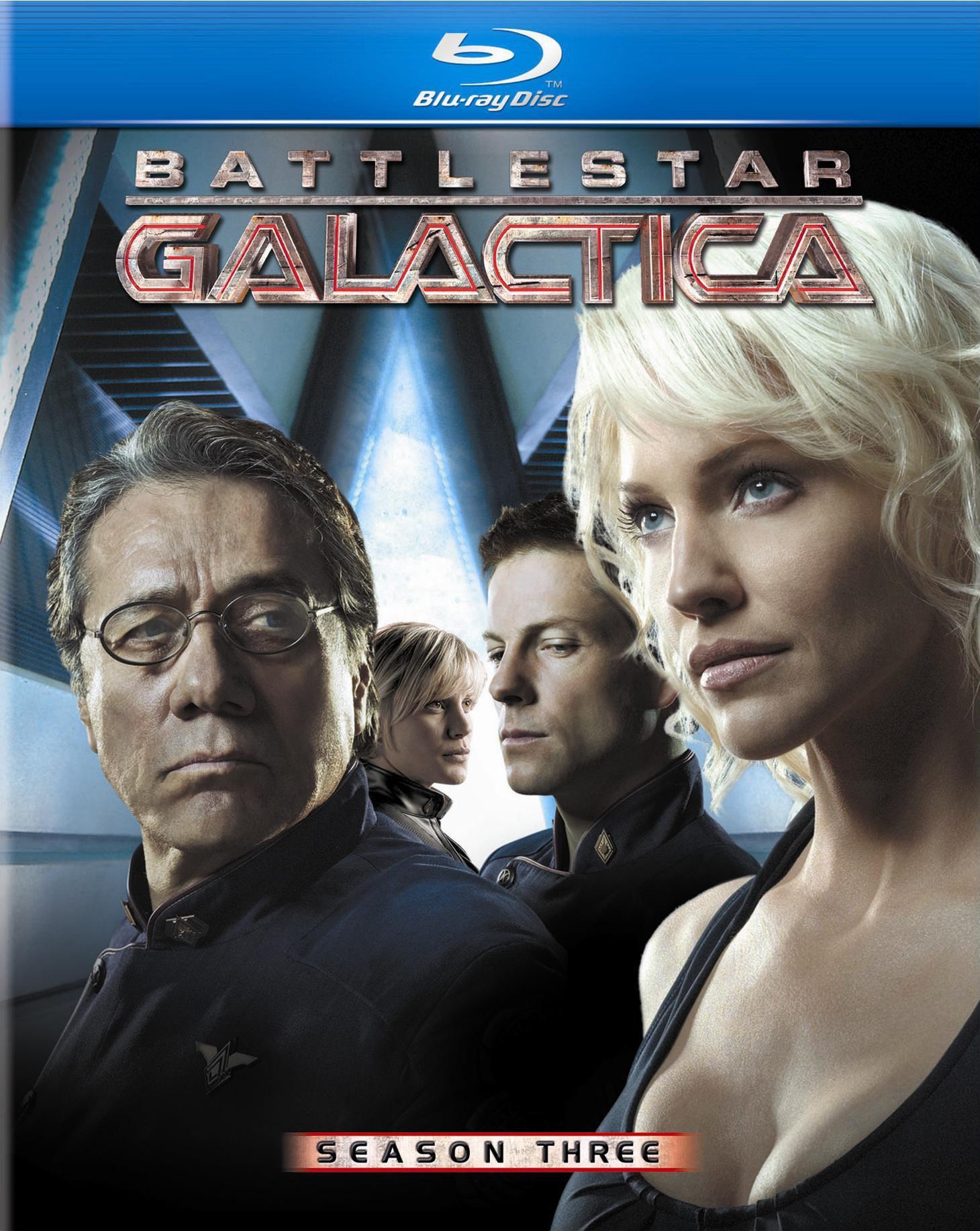 Battlestar Galactica: Season Three (Blu-ray Disc)