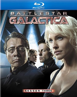 Battlestar Galactica: Season Three (Blu-ray Disc)