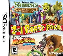 Nintendo DS - Dreamworks 2-in-1 Party Pack