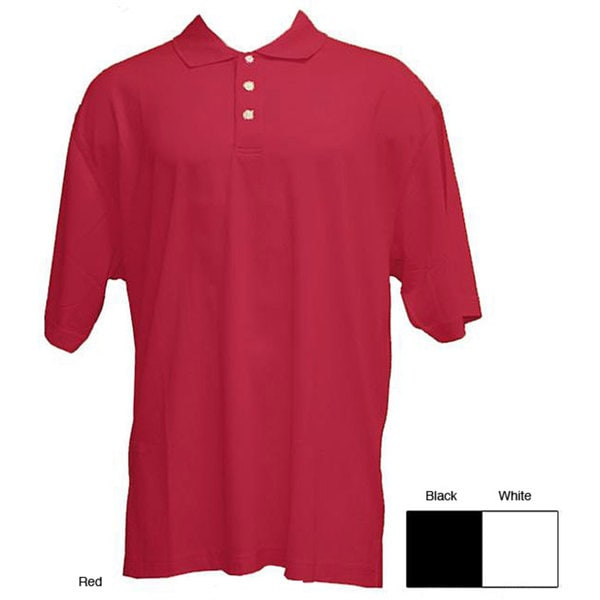 Skins Game Men's Polyester Pique Polo