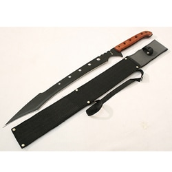 Sharp Blade 26-inch Machete Ninja Sword with Rosewood Handle