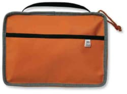 Orange, Gray Medium Reversible Book and Bible Cover (General merchandise)