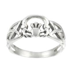 Tressa Sterling Silver Claddagh Ring