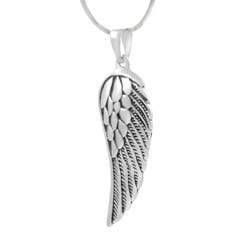 Tressa Sterling Silver Angel Wing Necklace