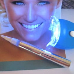 35-percent Teeth Whitening Pen and Rapid Accelerator Light