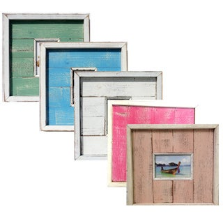 Recycled Wood 4x6-inch Picture Frame (Thailand)