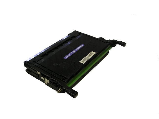 Samsung-compatible CLP-K600A Premium Black Laser Toner Cartridge