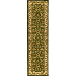 Lyndhurst Collection Majestic Sage/ Ivory Runner (2'3 x 6')