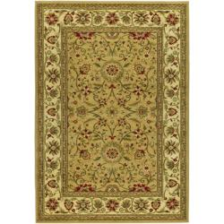 Lyndhurst Collection Majestic Beige/ Ivory Rug (9' x 12')