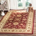 Safavieh Lyndhurst Collection Majestic Red/ Ivory Rug (4' x 6')