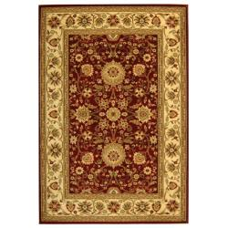 Safavieh Lyndhurst Collection Majestic Red/ Ivory Rug (9' x 12')