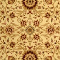 Lyndhurst Collection Majestic Ivory/ Ivory Rug (9' x 12')