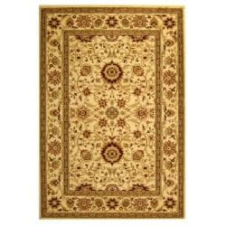 Safavieh Lyndhurst Collection Majestic Ivory/ Ivory Rug (9' x 12')