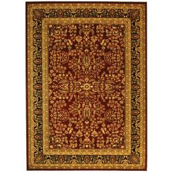 Safavieh Lyndhurst Collection Persian Treasure Red/ Black Rug (9' x 12')