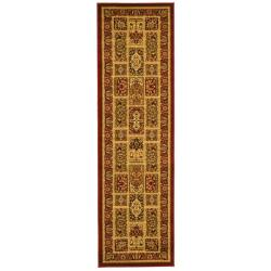 Safavieh Lyndhurst Collection Isfan Red/ Multi Runner (2'3 x 6')