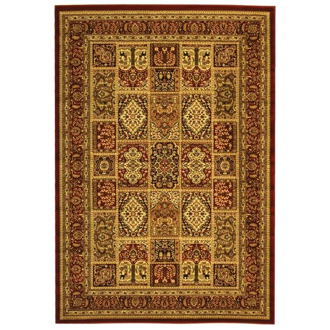 Safavieh Lyndhurst Collection Isfan Red/ Multi Rug (9' x 12')