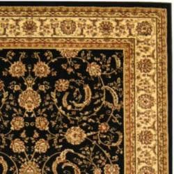 Safavieh Lyndhurst Collection Black/ Ivory Rug (9' x 12')