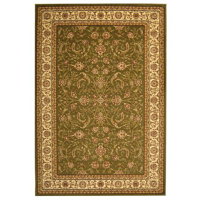 Safavieh Lyndhurst Collection Sage/Ivory Traditional Rug (9' x 12')
