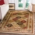 Lyndhurst Collection Multicolor/ Ivory Rug (4' x 6')